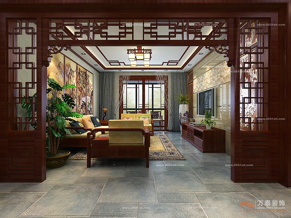 中式风格是比较自由的图片