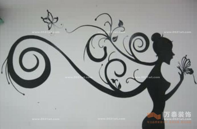 济南装饰公司:空间绚丽师—室内墙绘