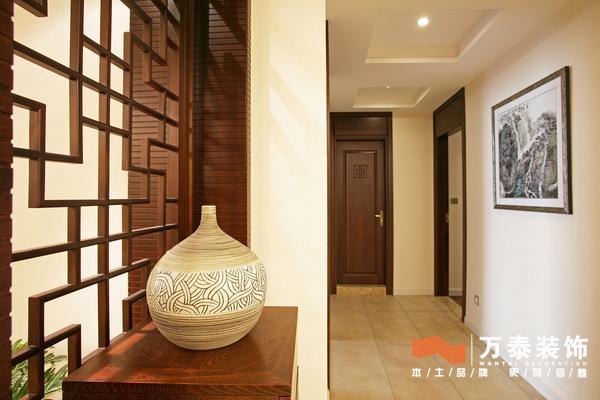 中式古典风格_挑设计_万泰装饰