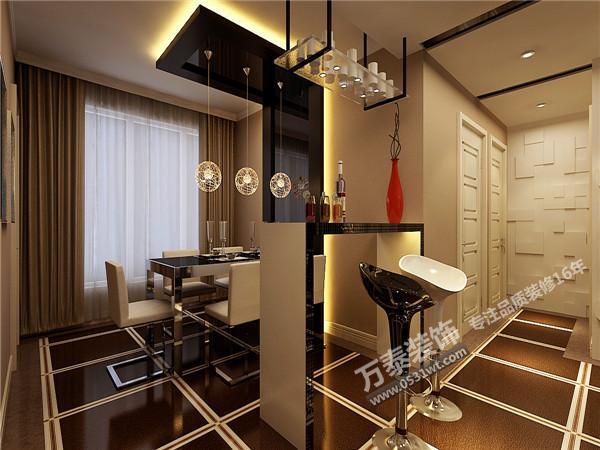 新房装修设计 三室两厅两卫一厨 140平 现代简约装修效果图欣赏