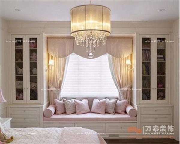 挑設計:清新小臥室,收納大空間