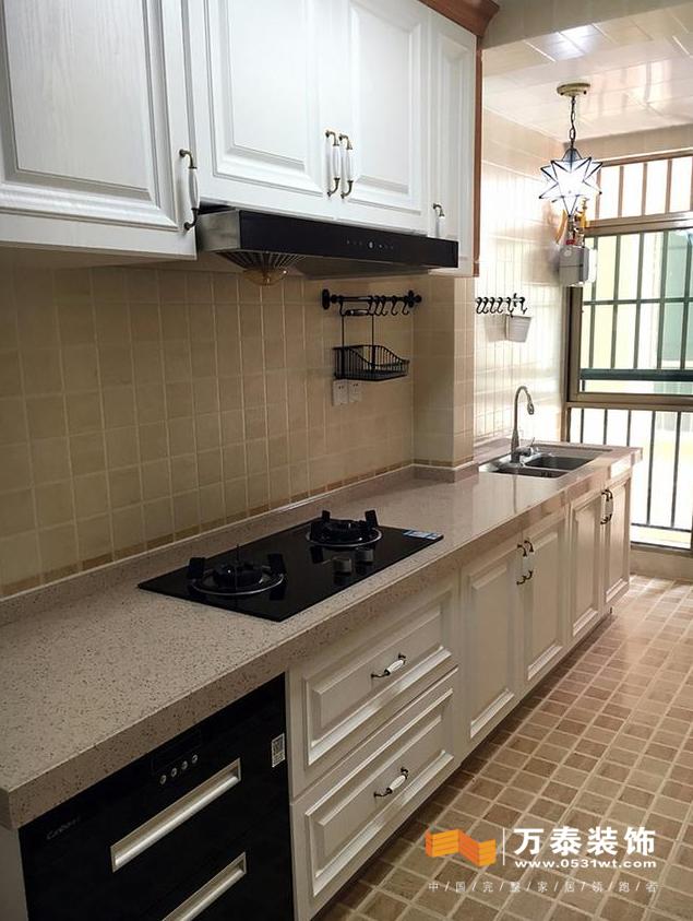 济南家庭装修万泰装饰厨房装修大致预算参考