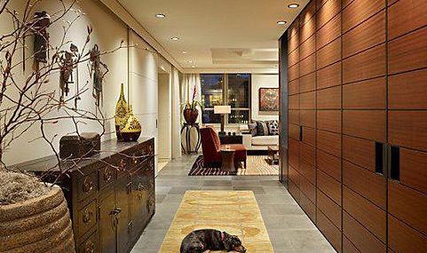 瓷磚地板巧鋪裝 室內墻面裝飾案例
