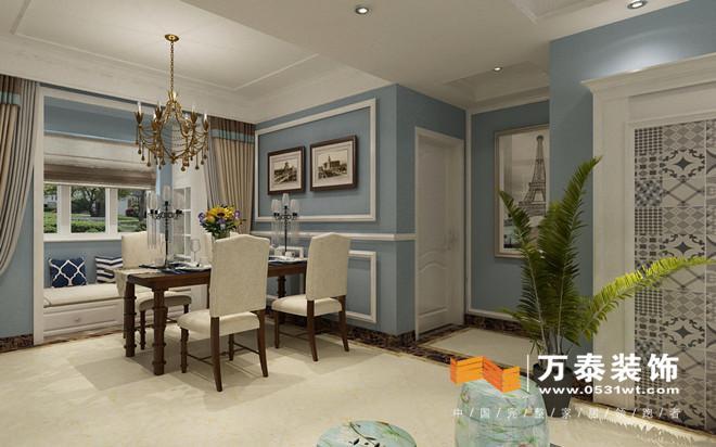 济南东城逸家138平小美风格装修设计案例