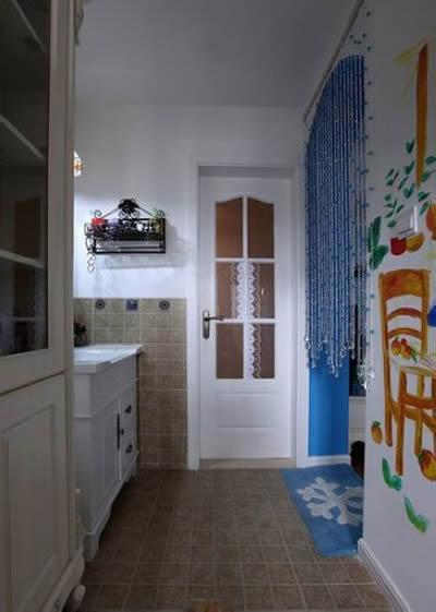 浪漫地中海风格婚房 小户型巧隔断做实用装修