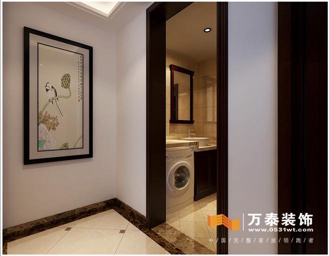济南绿地新都会170平新中式风格装修设计案例