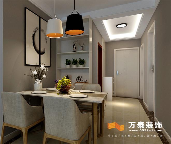 济南领秀公馆93平北欧风格装修设计案例