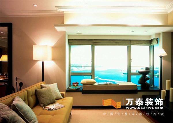 济南软装设计:新中式风格装修 飘窗给您带来新感觉图片