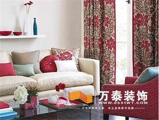 济南软装装饰:窗帘与沙发的完美搭配!