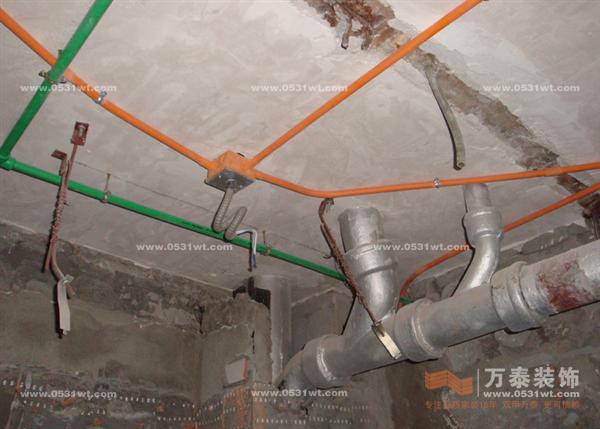 水电安装要点;; 家装暗线电线管图-12; 家装水电安装图纸图片;