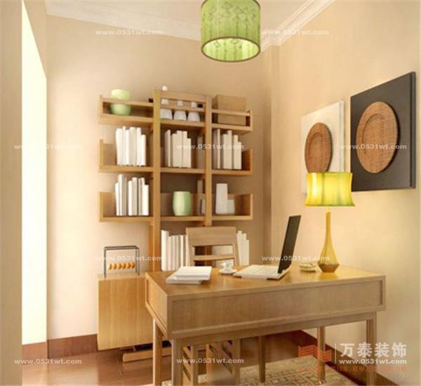 书房装修效果图; 六大百元墙面漆推荐 刷出精彩家居墙面; 第三代墙面