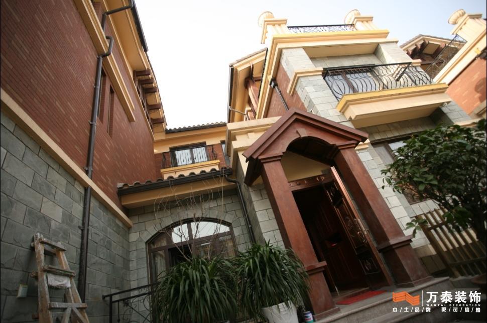 欧式院落里的中式风情; 中式风格设计作品; 欧式院落的中式风彩