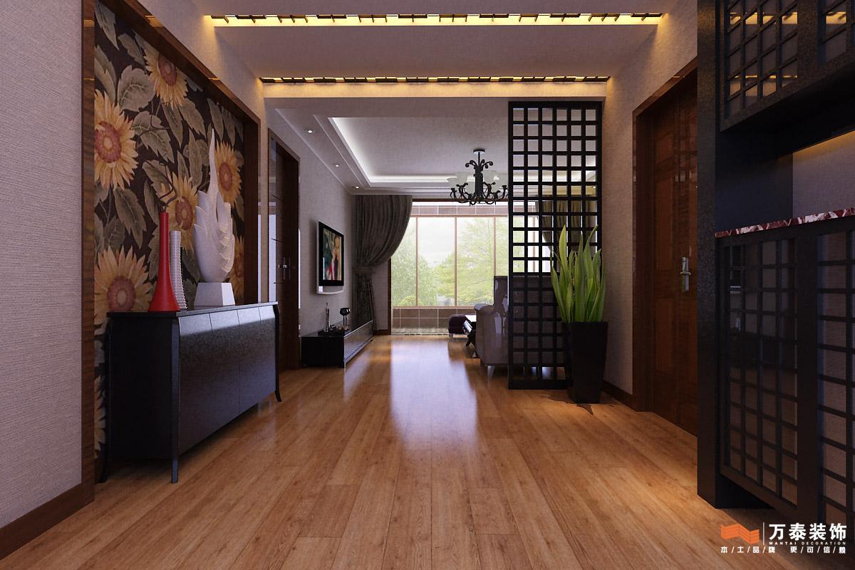 汉裕小区装修设计 现代简约风格装修效果图