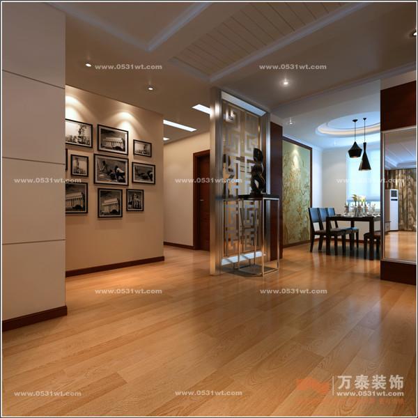 济南现代逸城装修效果图7万半包170温馨之家 现代港式图片