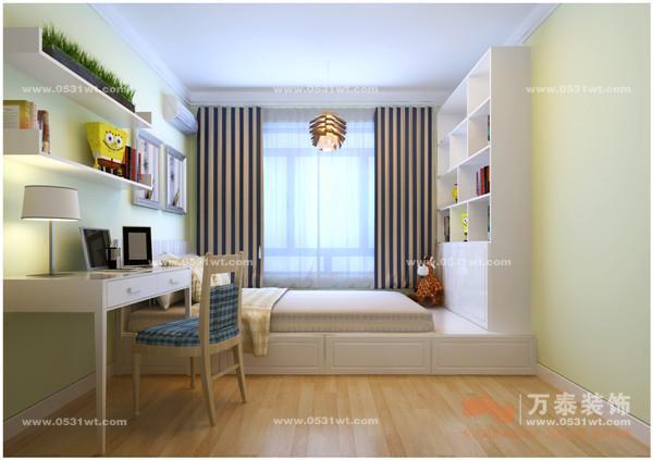 绿地卢浮宫馆 95平 两室两厅 现代简约装修效果图