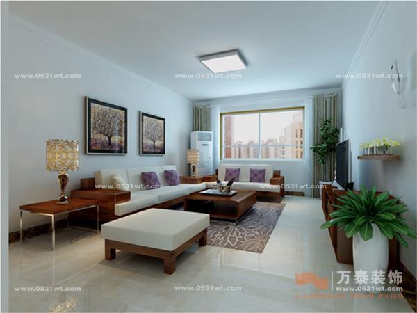 名泉春晓现代简约装修效果图欣赏 142平 三室两厅两卫