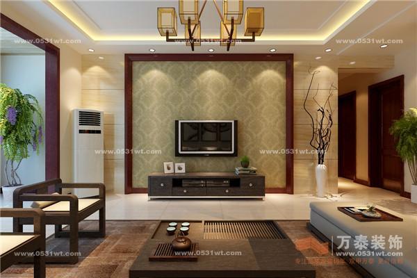主材装修:10万 装修户型:三室两厅 面积:135平方, 风格:现代中式 设计