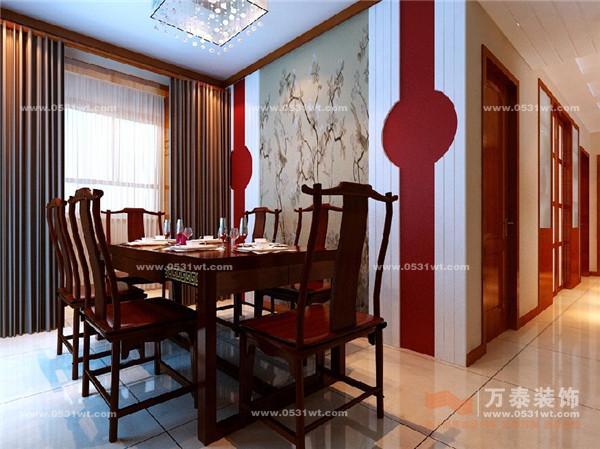 中海国际 新中式风格装修效果图
