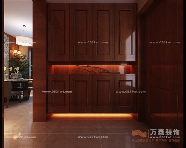 中海国际 135平 新中式风格装修效果图