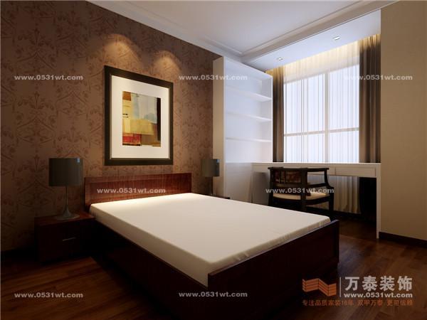 R03 泉景天沅 雅园 130平 三室两厅一卫 现代中式装修效果图欣赏高清图片