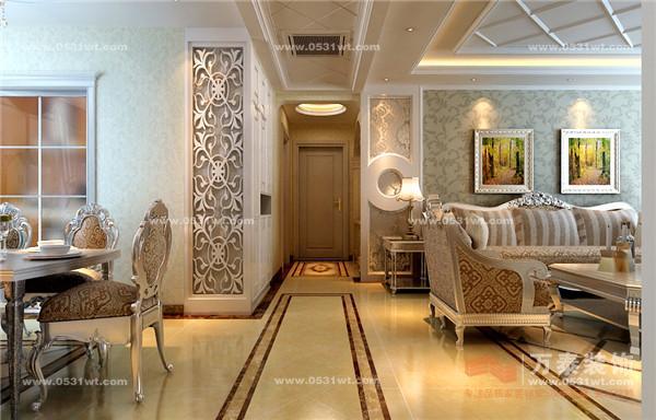 四室两厅三卫欧式风格装修效果