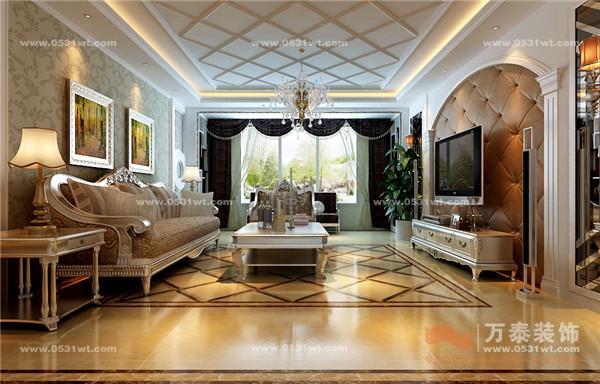 四室两厅三卫 欧式风格装修效果图欣赏