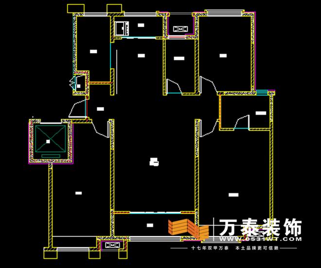 济南中海国际社区b3装修效果图|济南中海国际社区b3