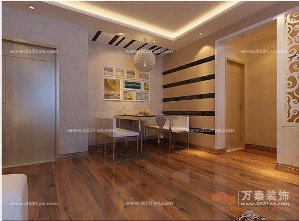 上一个案例:绿景尚品装修效果图 98平两居室 两室两厅一卫