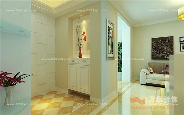 七里堡小区 现代简约 两居室 装修效果图