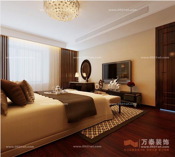 济南保利大明湖室内装修效果图 新古典风格