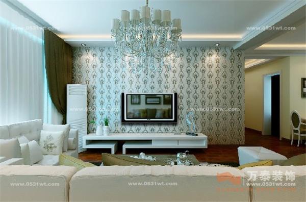 嘉和新苑装饰设计 现代简约风格装修效果图 120平