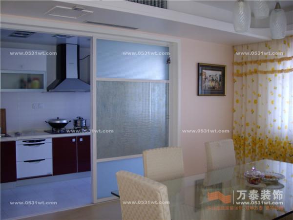 安全厅宿舍 240平 简约风格装修实景图_新房设计案例