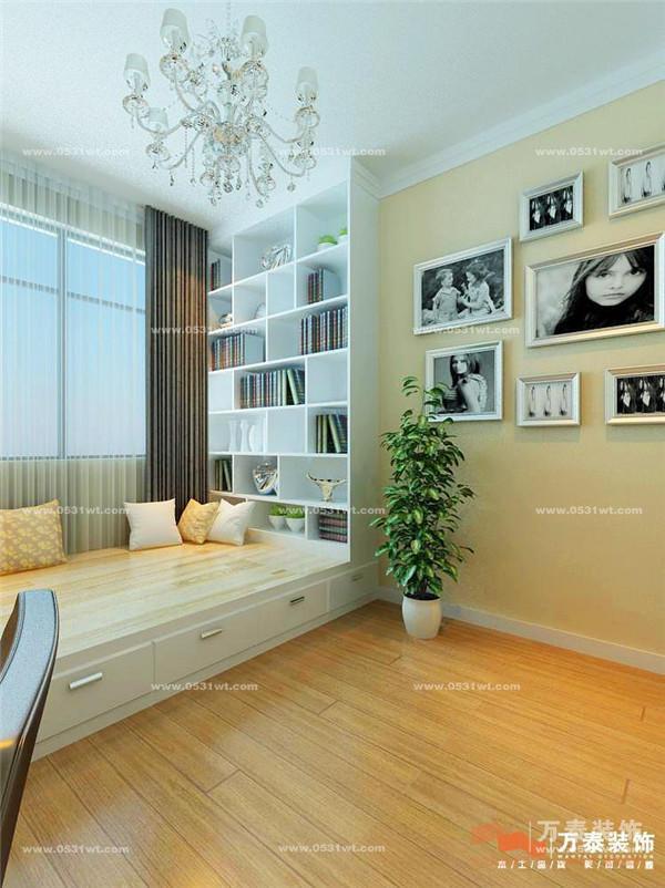 涵玉翠岭 两居室 89平 现代简约风格装修效果图_新房