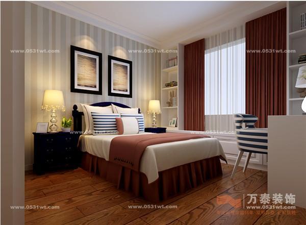 仁和盛庭 三室两厅一卫 160平 现代中式风格装修效果图欣赏高清图片
