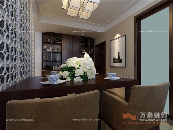 彩虹湖 天马相城 140平 三居室现代简约风格装修效果图欣赏