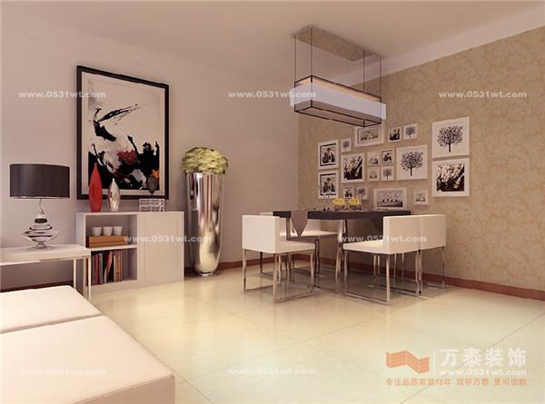 阳光舜城 110平 现代简约风格装修效果图_新房设计
