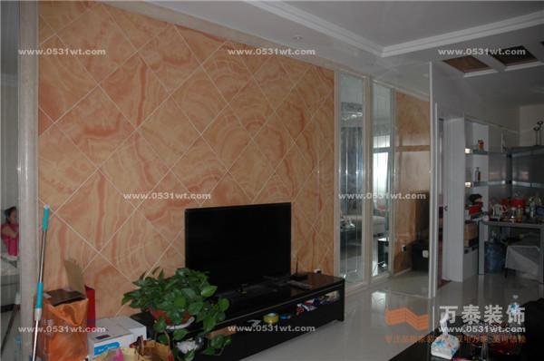 东荷苑 130平 欧式风格装修效果图与实景图