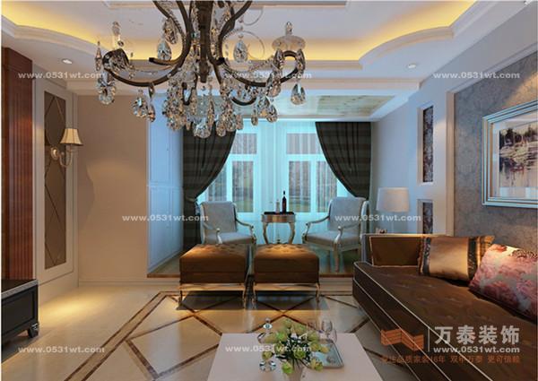 三室两厅 欧式奢华装修效果图欣赏