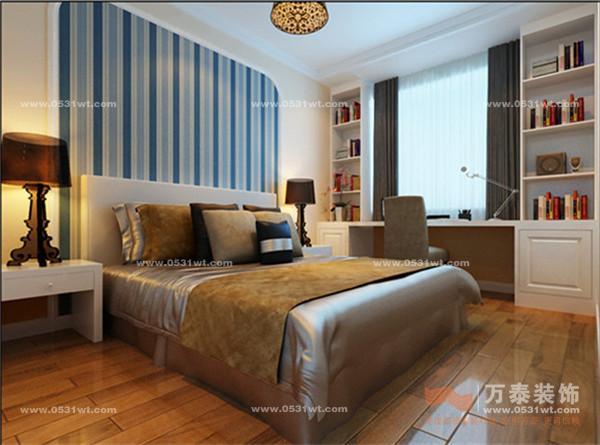 本套欧式方案简洁大气,在入户玄关和电视背景墙的设计上匠心之笔,增加