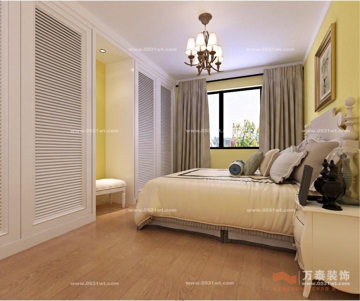 德裕家园90平美式乡村装修_新房设计案例_万泰装饰