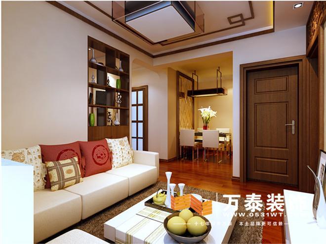 地址:外海中央花园 风格:简约中式 户型:两室两厅 面积:80.55平 设计师:李备 工程造价:8万 设计理念: 本案位于外海中央花园,简中风格,采用了木色家具来搭配,利用吊顶的木线条做区域分割,使空间更具合理性,更加的得体、大方、稳重。室内格调高雅,造型简朴优美,色彩浓重而成熟。室内采用字画、挂屏、盆景、瓷器、博古架等,追求一种修身养性的生活境界。室内装饰艺术的特点是总体布局,端正稳健,而在细节上崇尚自然情趣,花鸟虫鱼等精雕细琢,富于变化,充分体现出中国传统美学精神。 客厅的装修效果图:   玄关的设计