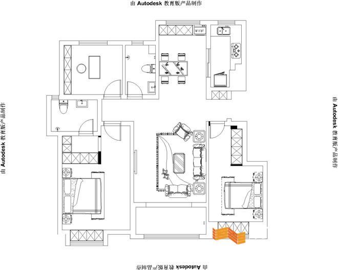 125平房屋设计图