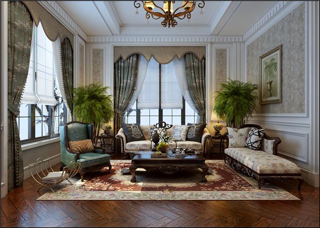 案例|济南章丘碧桂园简约美式风格别墅装修设计案例