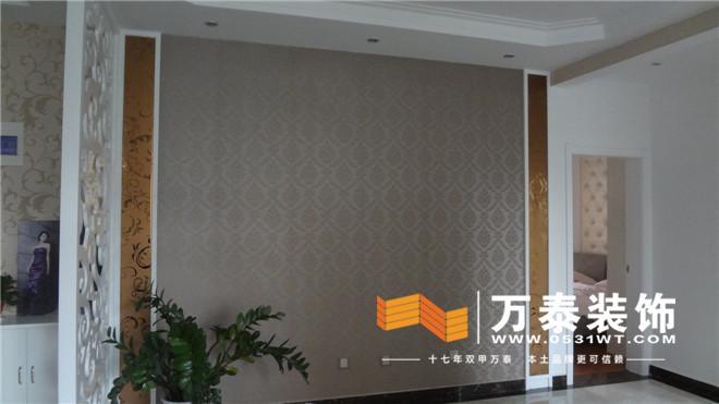 客厅的装修实景图