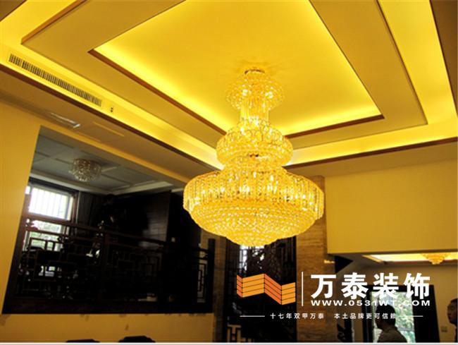 完工实景图 文昌别墅新中式风格装修实景图