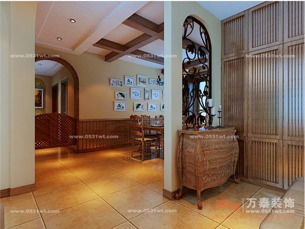 房间仿古砖装修效果图