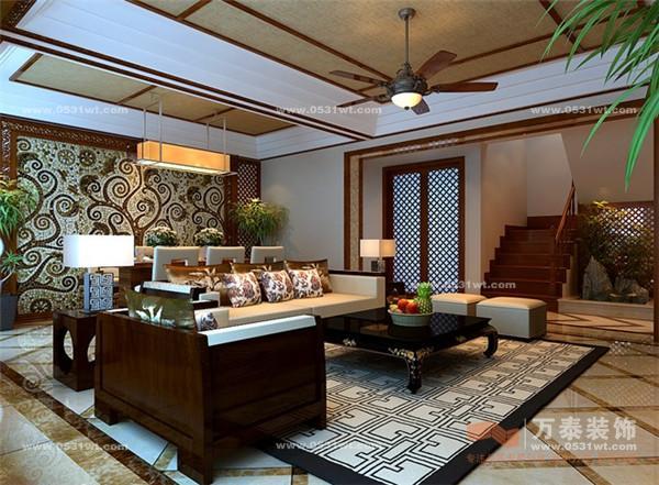 在传统的东南亚设计主题中又做出了一些小小的尝试