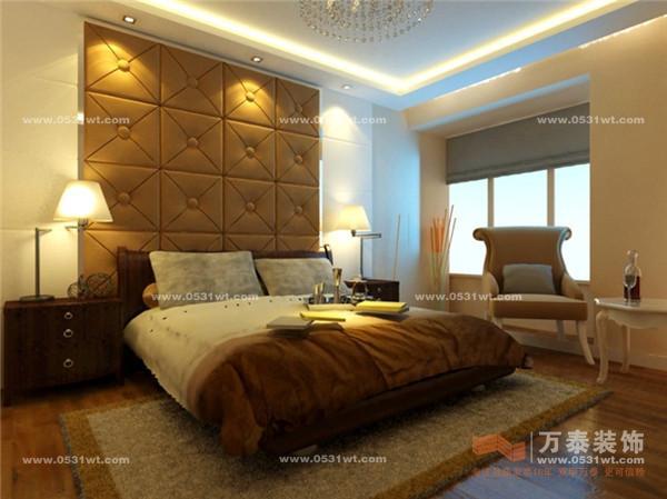 济南卢浮宫馆 140平 简约欧式室内装修效果图