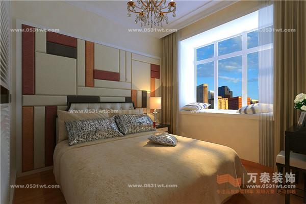 装修效果图 实景图 中式 欧式三口之家 设计师案例 济南万泰