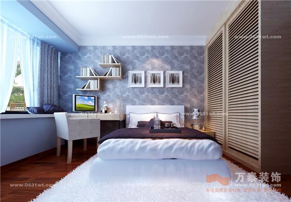 简约中国风 恒生伴山 现代中式风格装修效果图 140平 设计师案例 万泰